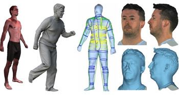 3D generated humans image