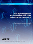 Cover of IEEE Synchrophasor Measurement Test Suite Specification Version 2